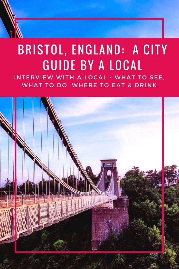 Bristol insider city guide: things to do in bristol.