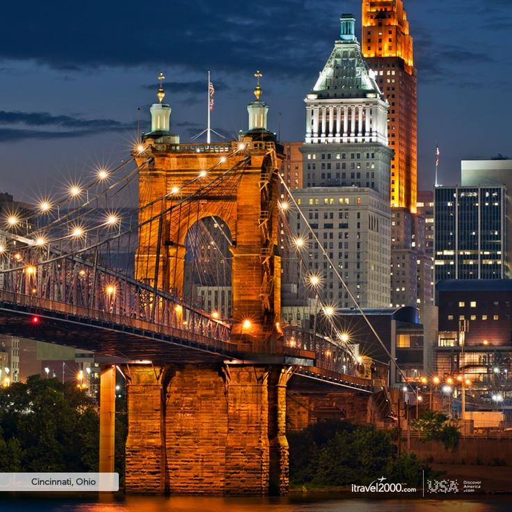 Cincinnati, Ohio Looks like NYC #DiscoverAmerica #iTravel2000