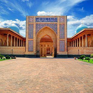 Turkestan - Usbekistan -Taschkent - Ruinen von Otrar - Seidenstraße