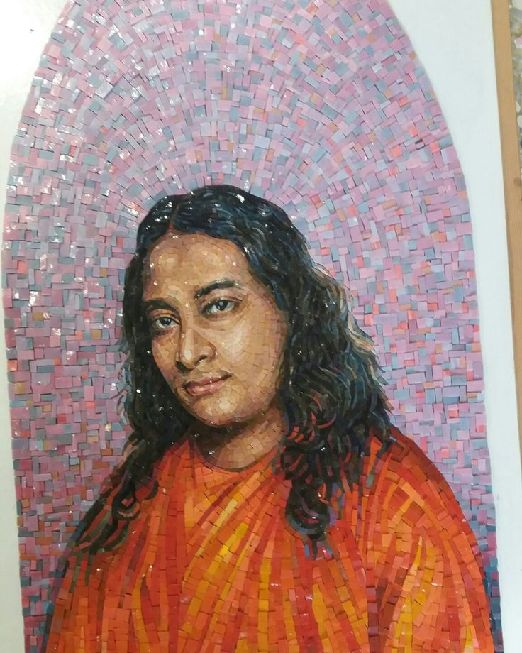 PARAMHANSA YOGANANDA... Finished on paper... #mosaic_menossi  #mosaicodinamico