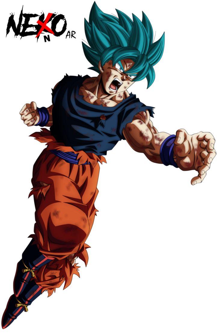 GOKU SUPER SAYAJIN BLUE / DRAGON BALL SUPER