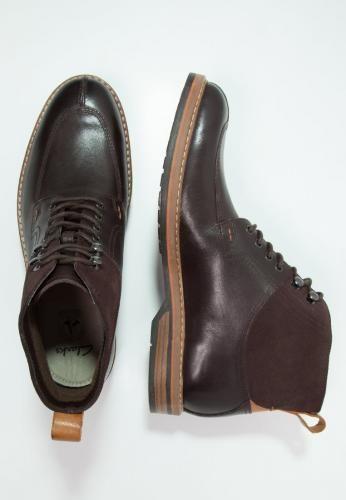 #Clarks pitney stivaletti con i lacci brown Marrone scuro  ad Euro 108.50 in #Clarks #Uomo promo scarpe stivali