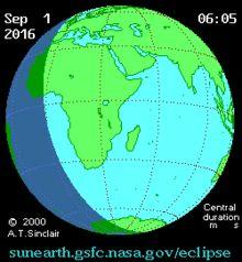 Éclipse solaire du 1er septembre 2016 — Wikipédia