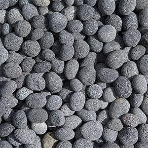 Charcoal Lava Pebbles