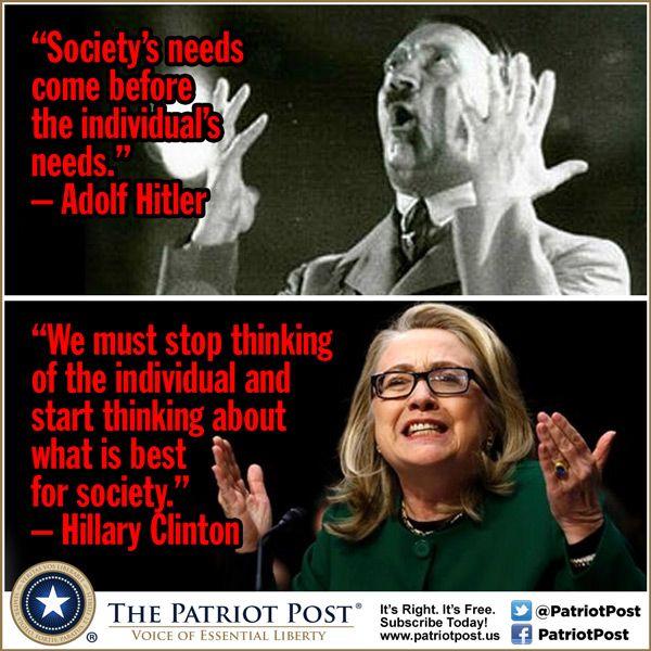 Hitler vs. Hillary — The Patriot Post