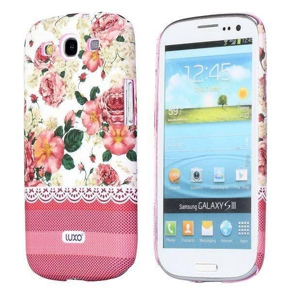 Elegante rozen hoesje Samsung Galaxy S3