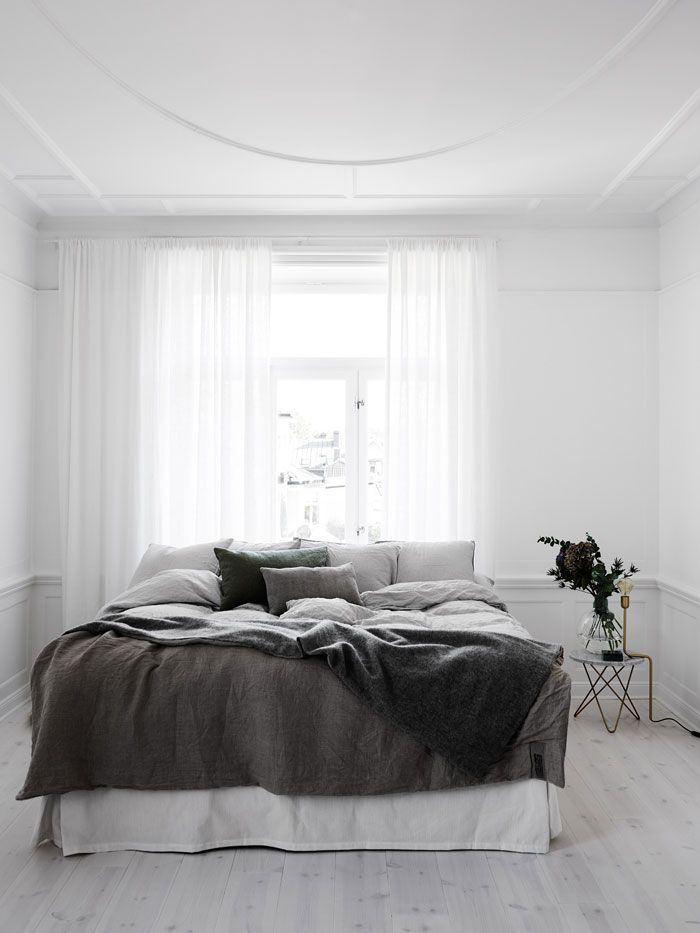 Bedrooms White greys marble