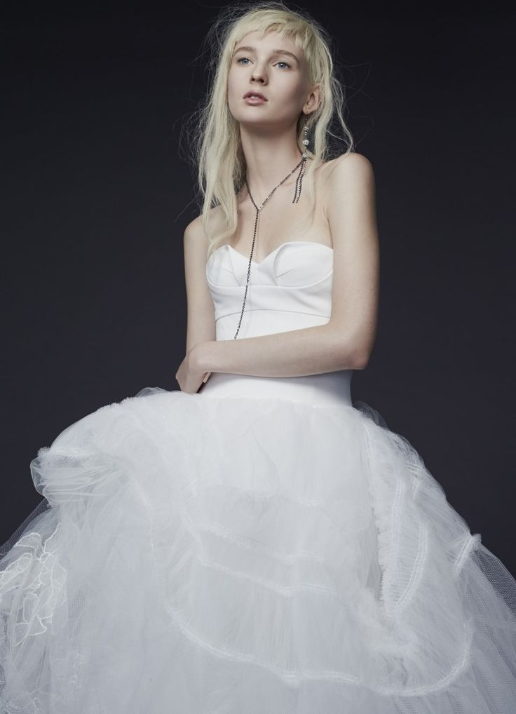 Abiti da sposa white di vera wang