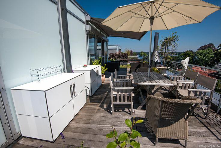 Balkonschrank - Terrassenschrank @_win in Berlin, Wannsee, 100 % wetterfest und UV-beständig
