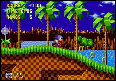 Sonic for Sega Mega Drive