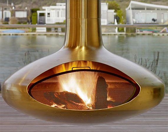 19 Best Images About Freestanding Fireplace On Pinterest