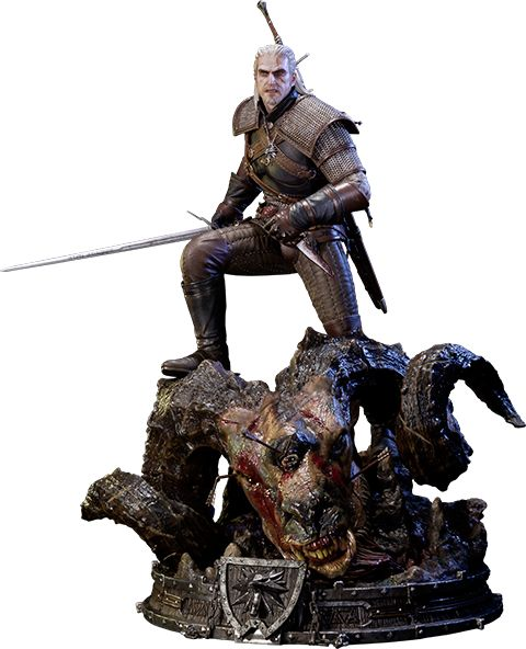 BLOG DOS BRINQUEDOS: Geralt of Rivia The Witcher 3: Wild Hunt Polystone...