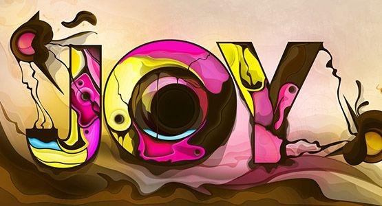 Joy typography