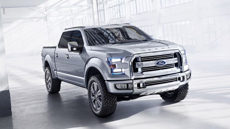 Ford Atlas Concept. Click on the above image for more photos and information. (Ford Motor)