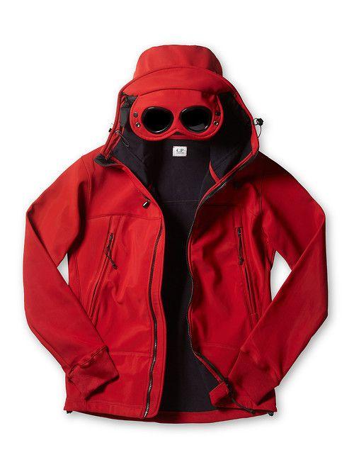 C.P. Company Soft Shell Bonded Goggle Jacket