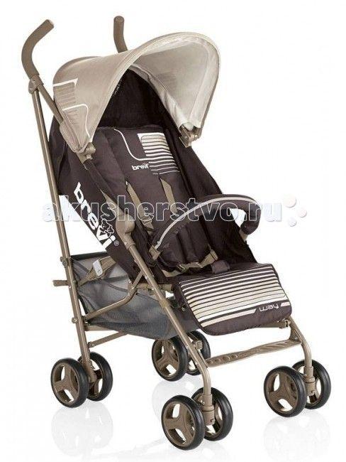 Коляска-трость Brevi Marathon  Детская коляска-трость Brevi Marathon прекрасная прогулочная коляска, которая подходит для малышей от 6 месяцев до 3 лет. Приятными особенностями которой является удобная и свободная посадка , регулируемая спинка.  Удобная и легкая она создана специально для больших городов , складывается очень легко, не требует много места для хранения, очень удобна с точки зрения транспортировки с помощью специальной ручки, так и на транспорте.   Прочная легкая конструкция…