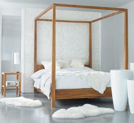 Las 25 mejores ideas sobre camas con dosel en pinterest y - Cama con dosel ...