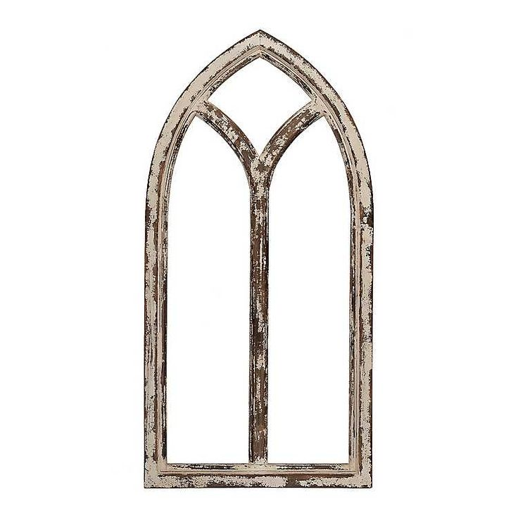 Product Details Shabby Cathedral Archway Plaque