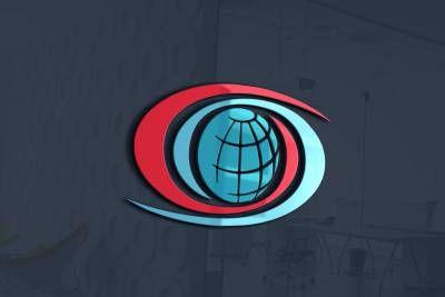 logo design nagykerklima.hu, earth, blue-red, warm-cold, air, air-condition, logo, brand
