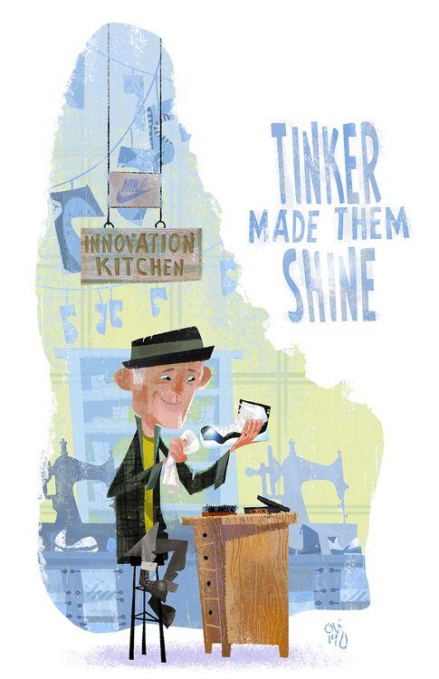 Tinker Hatfield. The Legend.