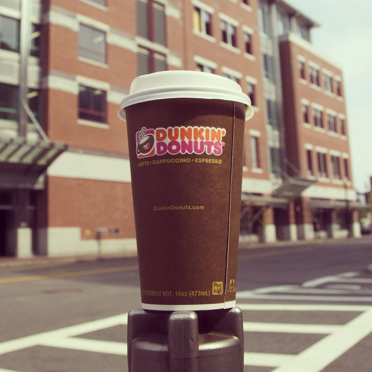 Where do you enjoy your Dunkin' latte?