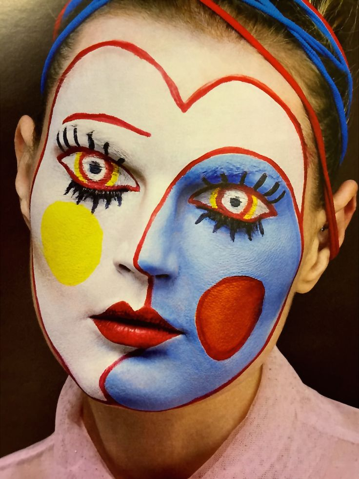 'face art by Isamaya Ffrench, make-up artiste extraordinaire. From the Sunday Times STYLE mag 1 March 2015.