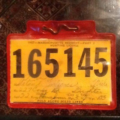 Massachusetts Hunting License