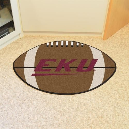 Eastern Kentucky University Football Floor Rug Mat