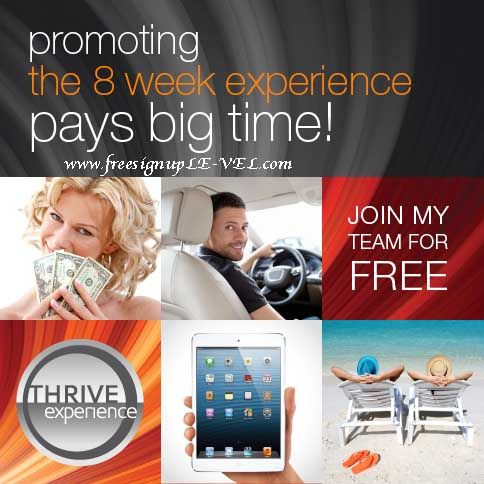 """Be The Best You Can Be"" Free Sign Up www.freesignup.LE-VEL.com"