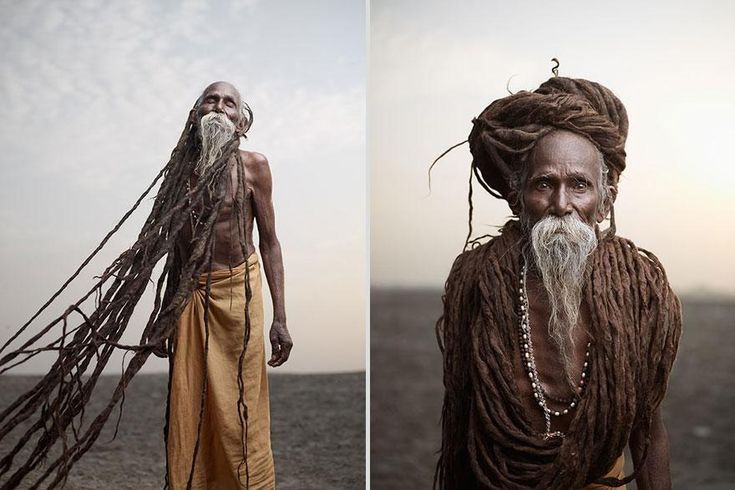 Striking Photographs Explore The Lives Of India's Holy Men - DesignTAXI.com
