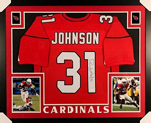 David Johnson Signed Cardinals 35x43 Custom Framed Jersey JSA COA -- Check out this great product. (This is an affiliate link and I receive a commission for the sales)