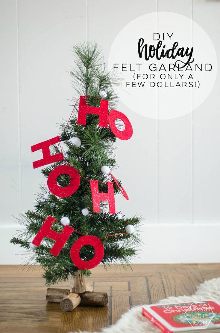 287 best Christmas Craft Ideas images on Pinterest | Xmas, Christmas ...