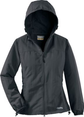 "Protect yourself against pesky insects this summer with our Insect Defense System with No Fly Zone™ insect-repellent woven jacket. Effectively repels mosquitoes, ticks, chiggers and more. Three-panel, fixed hood protects your head. 100% nylon. Center back length: 25.25"". Sizes: S-2XL. Colors: Gunpowder."