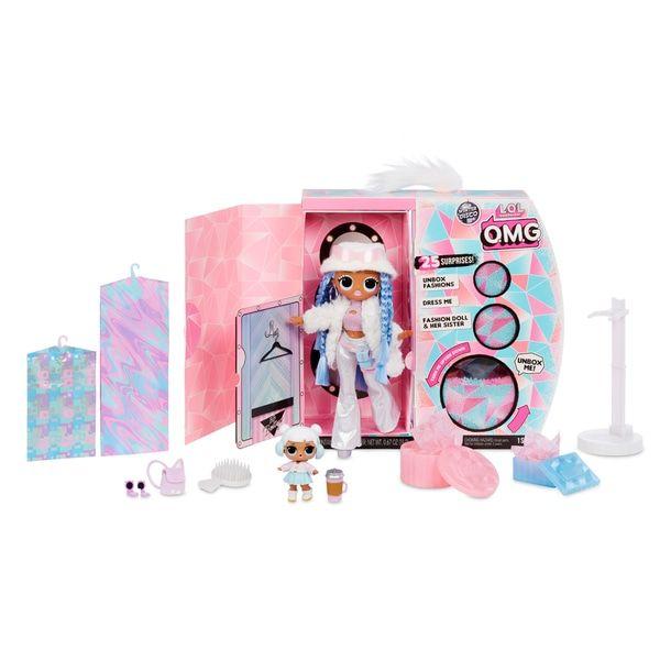 L O L Surprise O M G Winter Disco Snowlicious Fashion Doll And Sister Lo L Surprise Winter Disco Uk Toys Uk Lol Dolls Project Mc2 Dolls