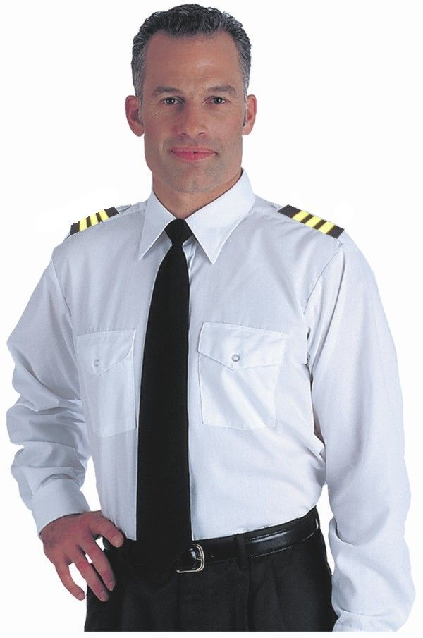 Airline pilot captain uniform