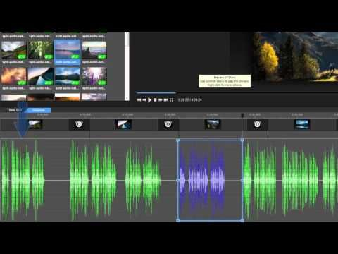 (6) How to Split Audio in Your ProShow Slideshow - YouTube