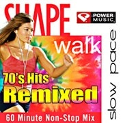 SHAPE Walk - 70s Hits Remixed @Carol Castleman magazine #workout #music