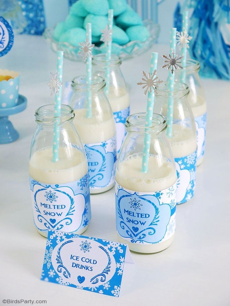 154 Best Frozen Birthday Party Ideas Decorations Images On Pinterest