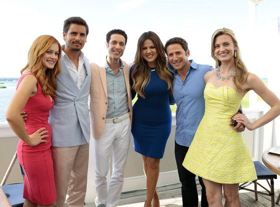 Khlo� Kardashian and Scott Disick Join Cast of Royal Pains for Season Finale?See the Exclusive Pic!
