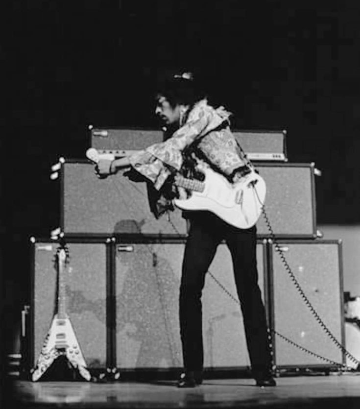 Jimi Hendrix Hunter College In New York City, Saturday March 2nd,1968