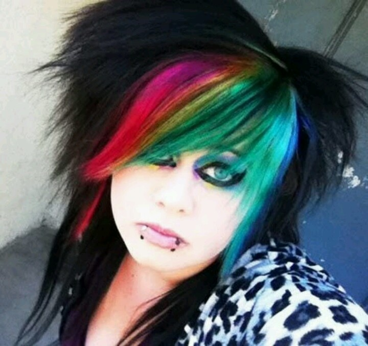 55 Best Crazy Hair Colors Images On Pinterest Colourful Hair Hair