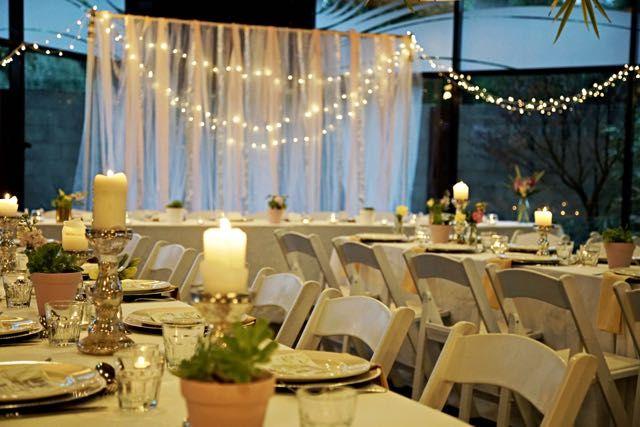 Palm Springs themed wedding