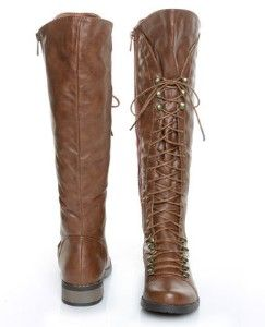 Bamboo Croft 17 Chestnut Lace-Up Riding BootsLace Up Riding Boots, Croft 17, Chestnut Lace Up, Laceup Riding, Chestnut Laceup, Lace Up Boots, Bamboo Croft, Brown Boots, 17 Chestnut