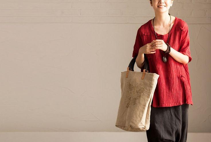 Femmes chemise en lin de Fashion Lady sur DaWanda.com