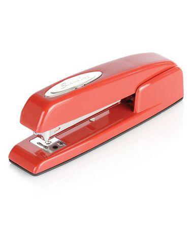 Red Swingline Stapler #zulily #zulilyfinds