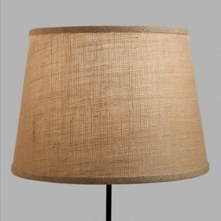 Natural Burlap Table Lamp Shade
