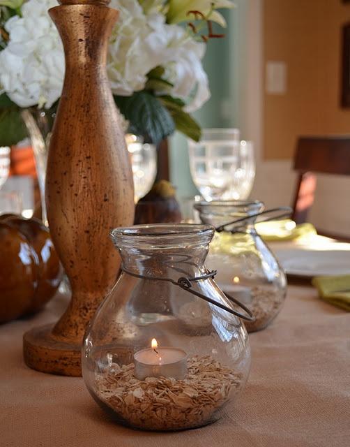 Using dry oatmeal as vase filler abode pinterest craft for 15 creative vase fillers