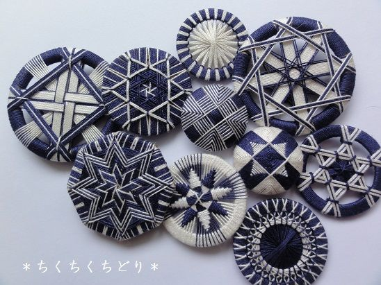 紺×生成り                                                       …