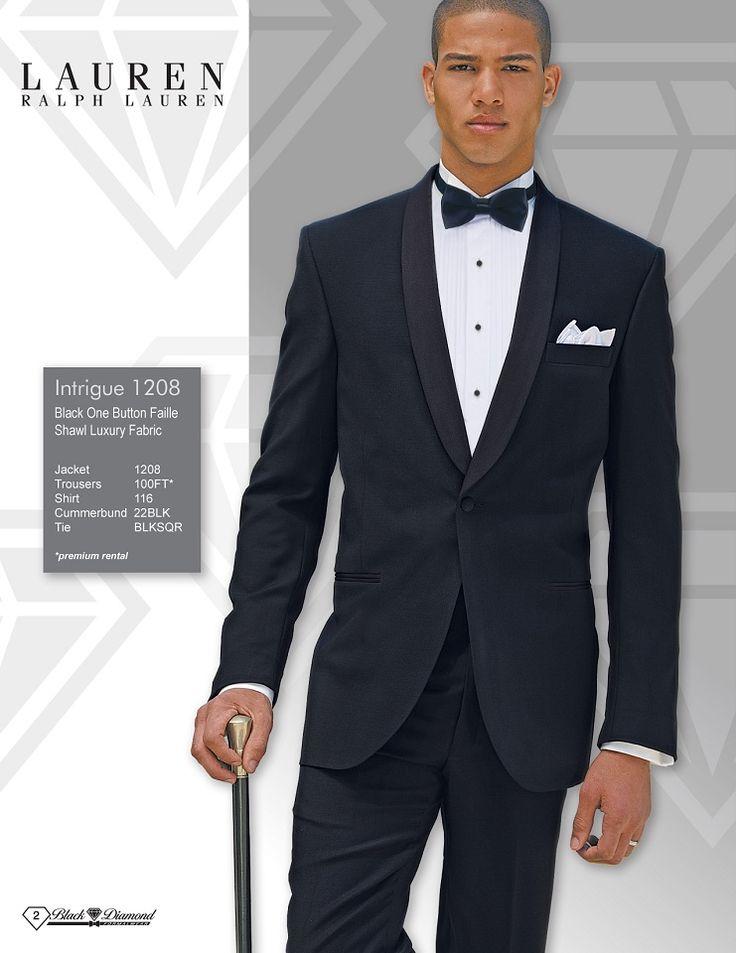 Ralph Lauren Intrigue One Button Faille Shawl Luxury Fabric