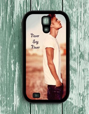 Justin Bieber Never Say Never Samsung Galaxy S4 Case